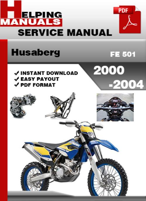 husaberg fe 501 2000 2004 service repair manual download download rh tradebit com 98 Husaberg Fe 501 Reliable Husaberg 450 Fe Review