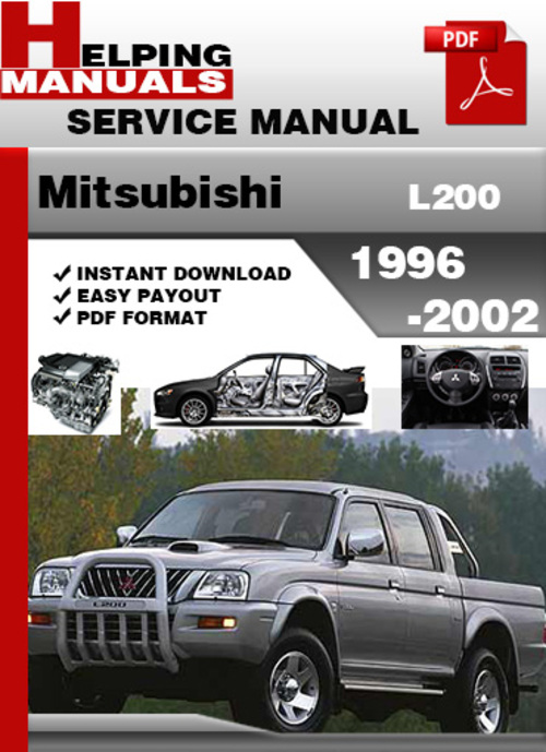 mitsubishi l200 1996 2002 service repair manual download Broan L200 Samsung L200