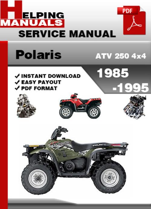 Polaris Atv 250 4x4 1985