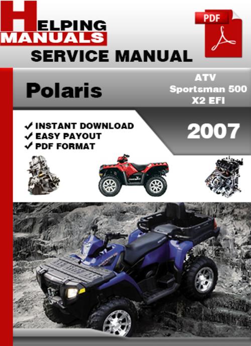 Download Polaris sportsman 500 owner manual