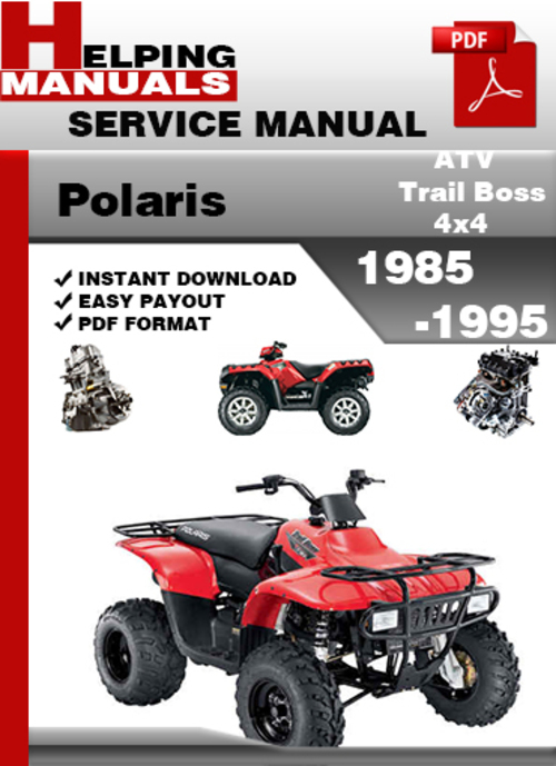 1994 Polaris 300 Free Manual