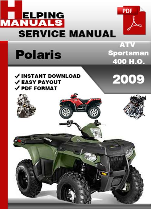 polaris sportsman 400 service manual pdf download autos post. Black Bedroom Furniture Sets. Home Design Ideas