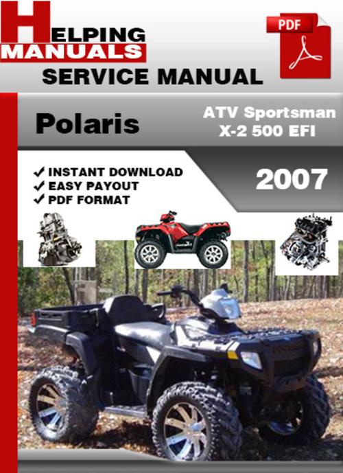 2007 polaris sportsman 500 service manual. Black Bedroom Furniture Sets. Home Design Ideas