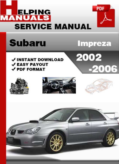 2006 subaru impreza service manual open source user manual u2022 rh dramatic varieties com 1999 subaru impreza outback sport owners manual 1999 subaru impreza service manual