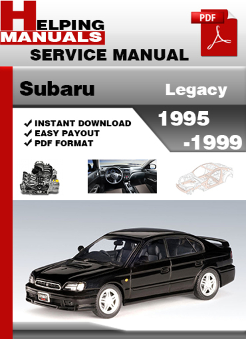 Subaru repair manual | ebay.