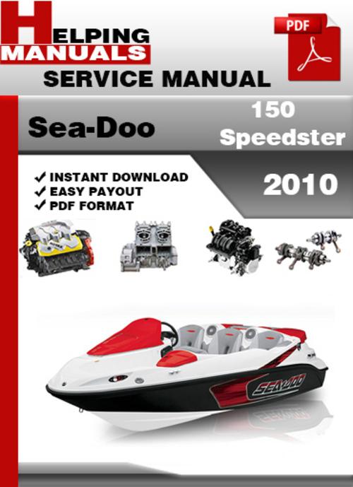 Free Sea-Doo 150 Speedster 2010 Service Repair Manual Download Download thumbnail
