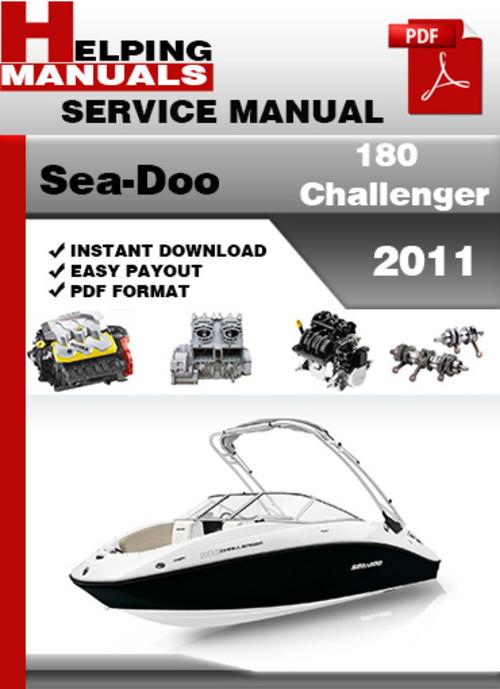 Seadoo challenger Operators manual