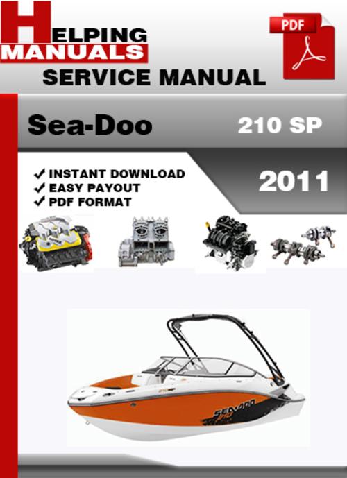 Free Sea-Doo 210 Challanger 2011 Service Repair Manual Download Download thumbnail