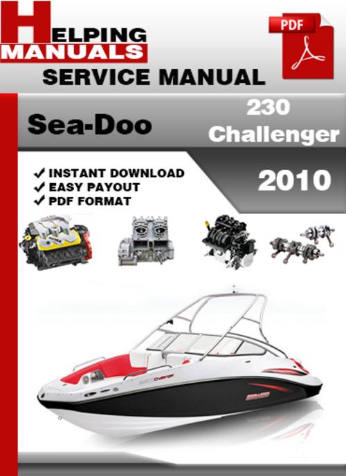 sea doo 230 challenger 2010 service repair manual download 180 Sea-Doo Challenger Sea-Doo Challenger Parts