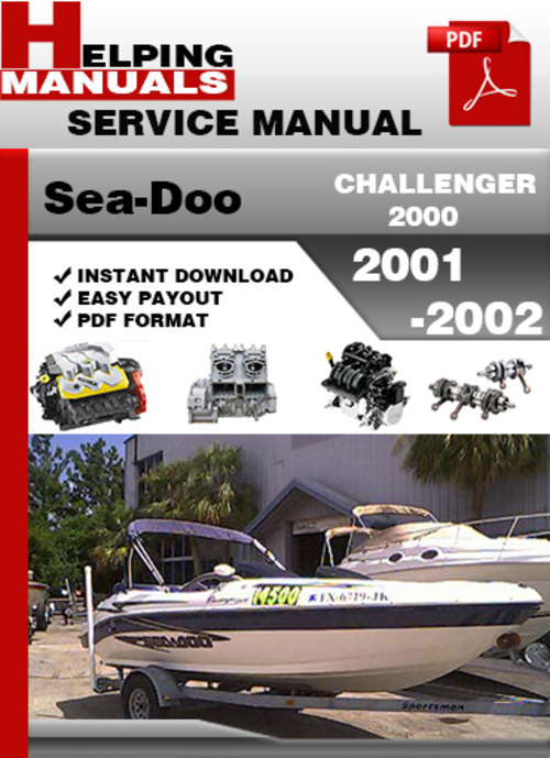 2001 seadoo challenger 2000 operators manual various owner manual rh justk co 2001 Seadoo Challenger Parts 2001 seadoo challenger 1800 service manual