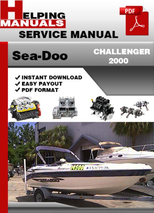 sea doo challenger 2000 service repair manual download download m rh tradebit com 2001 sea doo challenger 2000 service manual sea doo challenger 2000 manual