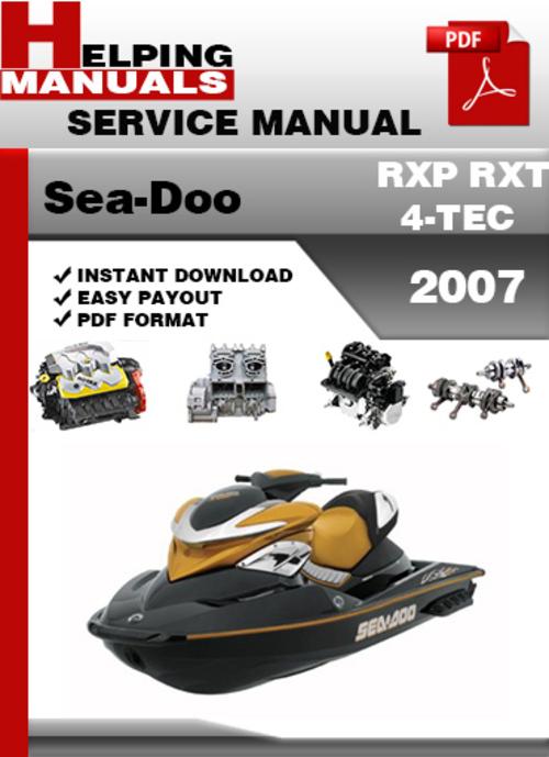 Sea doo rxp manual