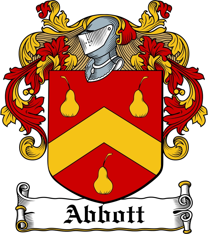 Thumbnail Abbott Family Crest / Irish Coat of Arms Image Download