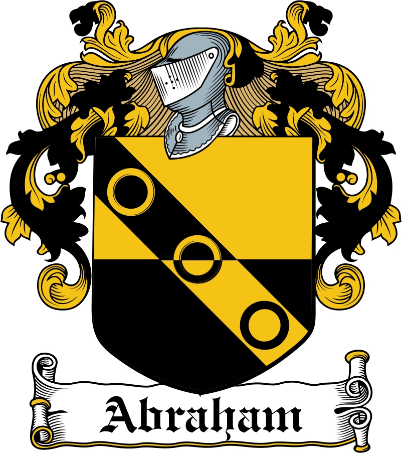 Thumbnail Abraham Family Crest / Irish Coat of Arms Image Download