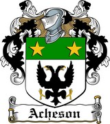 Thumbnail Acheson Family Crest / Irish Coat of Arms Image Download