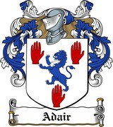 Thumbnail Adair Family Crest / Irish Coat of Arms Image Download