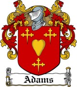 Thumbnail Adams Family Crest / Irish Coat of Arms Image Download