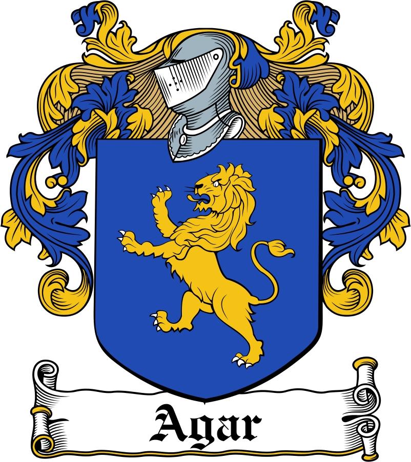Thumbnail Agar Family Crest / Irish Coat of Arms Image Download