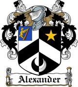 Thumbnail Alexander Family Crest / Irish Coat of Arms Image Download