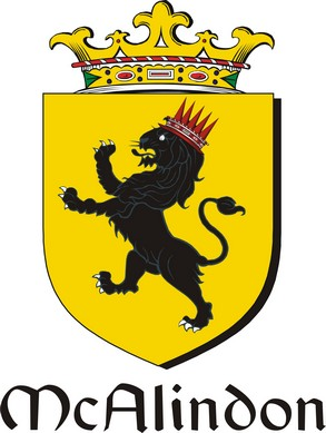 Thumbnail Alindon-Mc Family Crest / Irish Coat of Arms Image Download