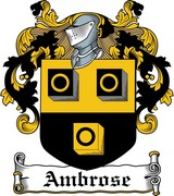 Thumbnail Ambrose Family Crest / Irish Coat of Arms Image Download