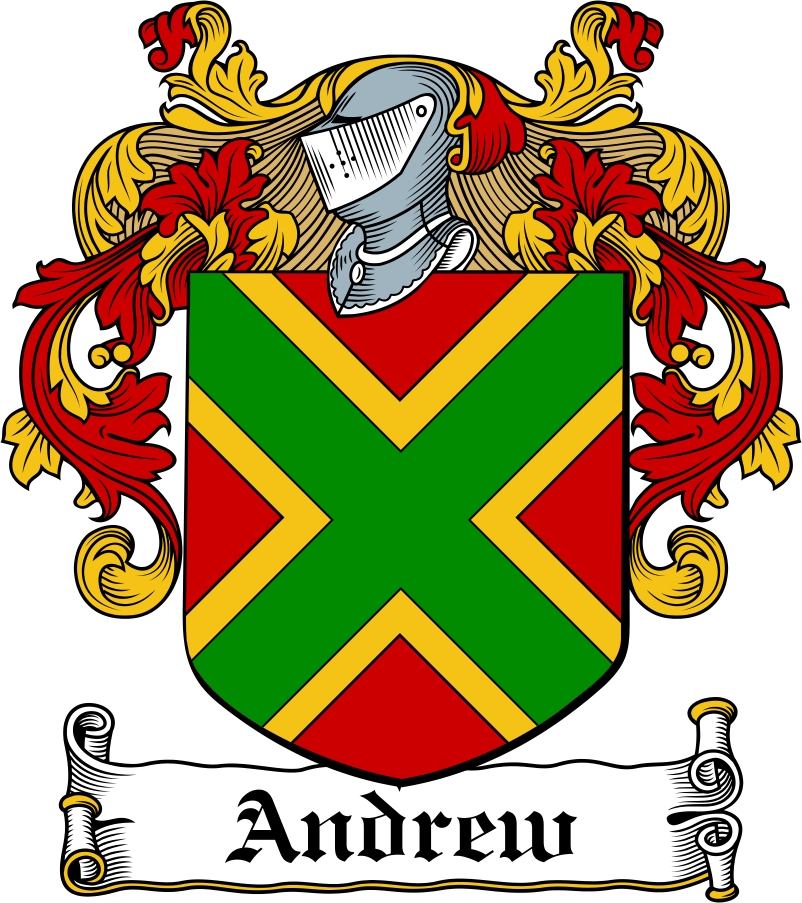 Thumbnail Andrew Family Crest / Irish Coat of Arms Image Download
