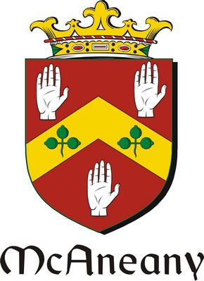 Thumbnail Anean-Mc Family Crest / Irish Coat of Arms Image Download