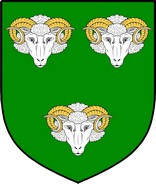 Thumbnail Aries Family Crest / Irish Coat of Arms Image Download