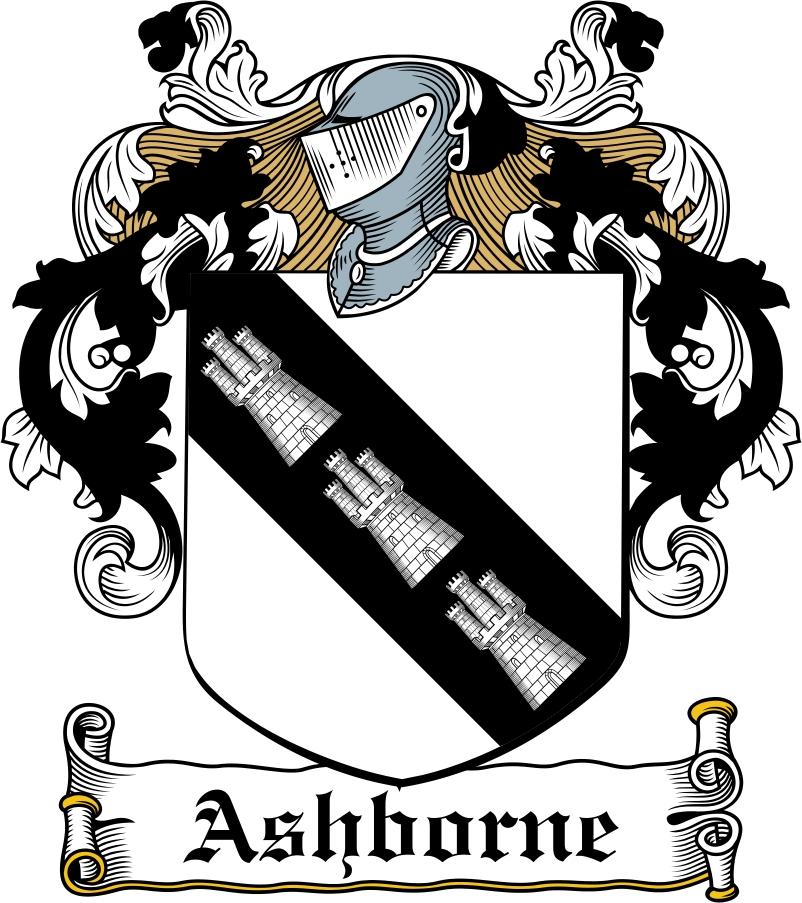 Thumbnail Ashborne Family Crest / Irish Coat of Arms Image Download