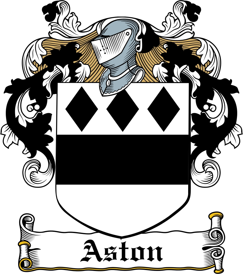 Thumbnail Aston Family Crest / Irish Coat of Arms Image Download