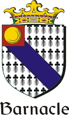 Thumbnail Barnacle Family Crest / Irish Coat of Arms Image Download