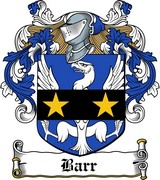 Thumbnail Barr Family Crest / Irish Coat of Arms Image Download