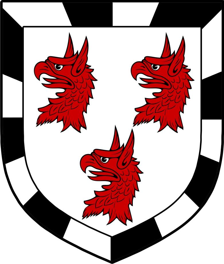 Thumbnail Barran Family Crest / Irish Coat of Arms Image Download