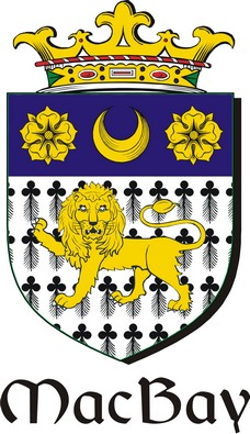 Thumbnail Bay-Mac Family Crest / Irish Coat of Arms Image Download