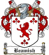 Thumbnail Beamish Family Crest / Irish Coat of Arms Image Download