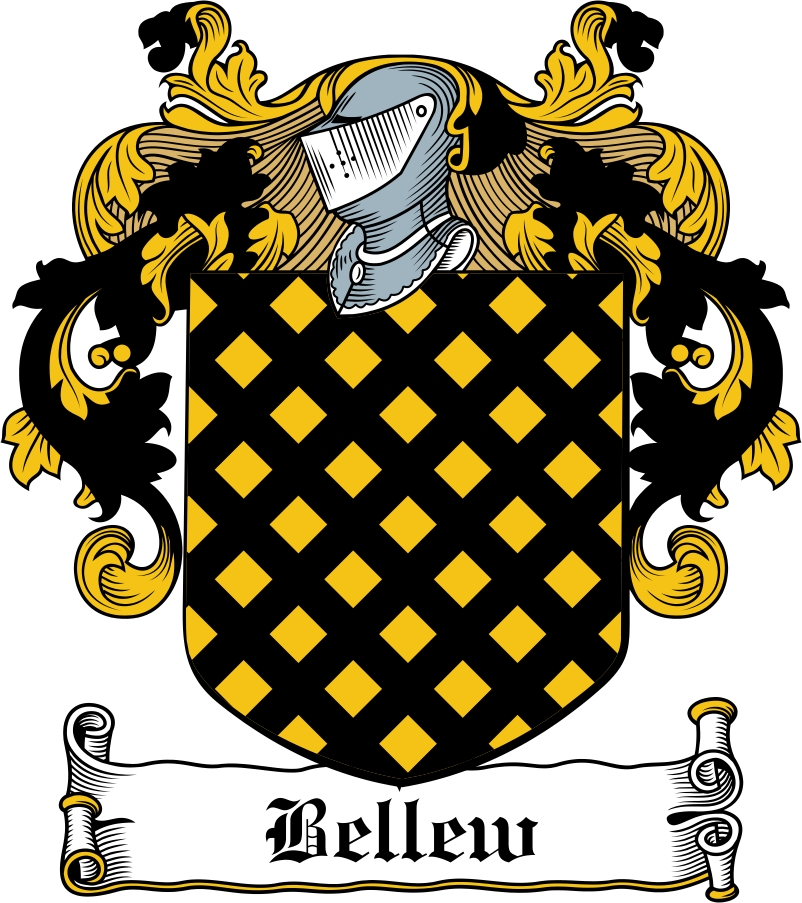 Thumbnail Bellew Family Crest / Irish Coat of Arms Image Download