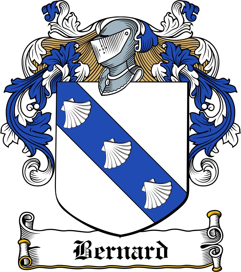Thumbnail Bernard Family Crest / Irish Coat of Arms Image Download