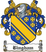 Thumbnail Bingham Family Crest / Irish Coat of Arms Image Download
