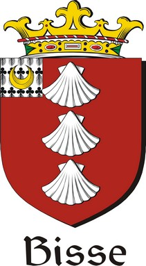 Thumbnail Bisse Family Crest / Irish Coat of Arms Image Download