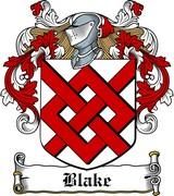 Thumbnail Blake Family Crest / Irish Coat of Arms Image Download
