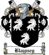 Thumbnail Blayney Family Crest / Irish Coat of Arms Image Download
