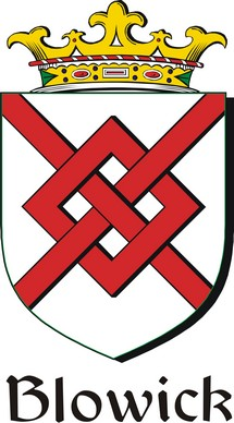 Thumbnail Blowick Family Crest / Irish Coat of Arms Image Download