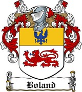 Thumbnail Boland Family Crest / Irish Coat of Arms Image Download