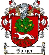 Thumbnail Bolger Family Crest / Irish Coat of Arms Image Download