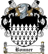 Thumbnail Bonner Family Crest / Irish Coat of Arms Image Download