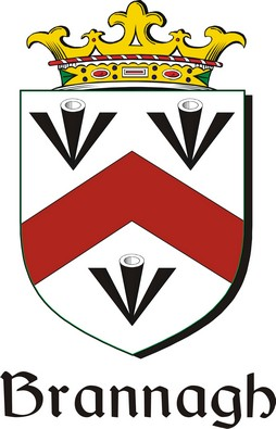 Thumbnail Brannagh Family Crest / Irish Coat of Arms Image Download