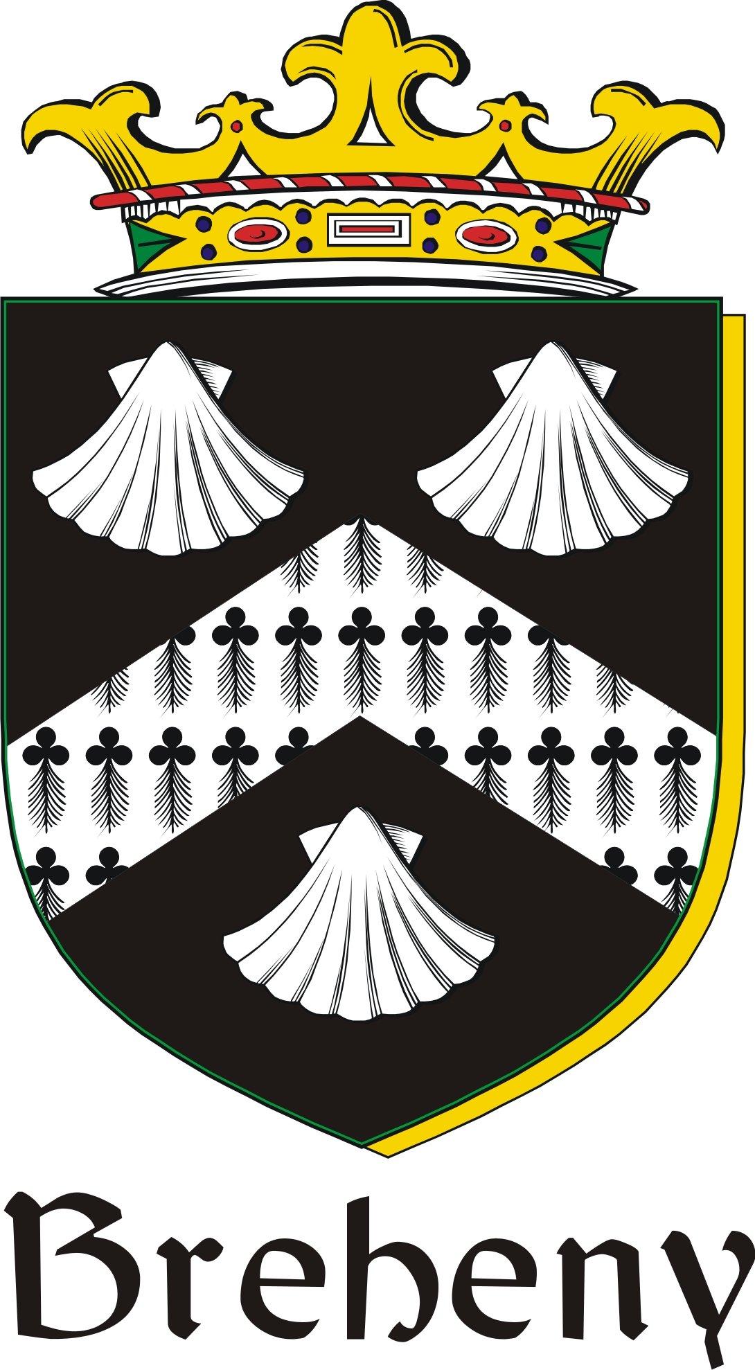 Thumbnail Breheny Family Crest / Irish Coat of Arms Image Download