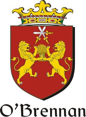 Thumbnail Brennan-O Family Crest / Irish Coat of Arms Image Download