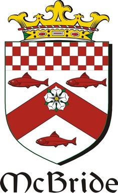 Thumbnail Bride-Mc Family Crest / Irish Coat of Arms Image Download