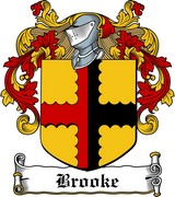 Thumbnail Brooke Family Crest / Irish Coat of Arms Image Download